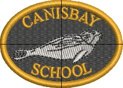 CANISBAY  PRIMARY SCHOOL WHITE  T- SHIRT WITH LOGO